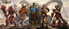 主宰亚山  《魔法门之英雄无敌:王朝》据点种族五大英雄强势来袭!