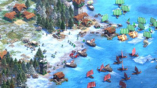帝国时代2决定版游戏截图